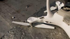 drone en mauvais état