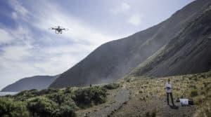 pratique du drone en montagne