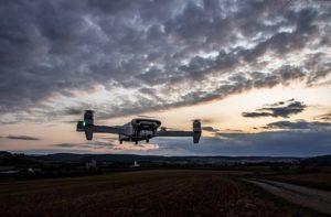 drone xioami fimi x8 se en vol