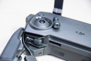 élément de la radiocommande du drone Dji mavic mini