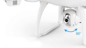 caméra du drone Potensic T35