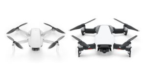 Dji mavic mini et dji mavic air