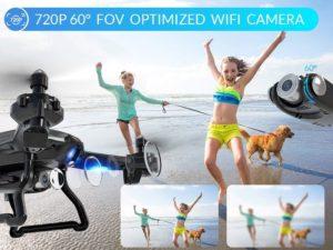caméra du drone snaptain s5c