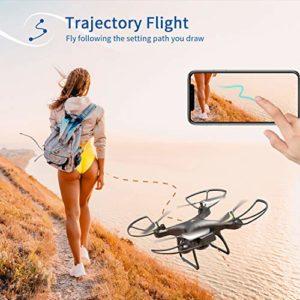 mode waypoint sur le drone Snaptain SP650
