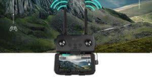 radiocommande de l'Hubsan Zino Pro