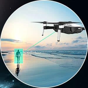 Mode Follow me du drone Eachine EX4